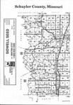 Schuyler County Index Map 1, Adair and Schuyler Counties 1998